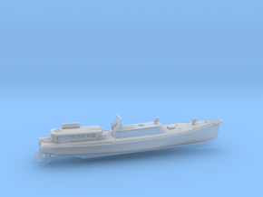 1/144 IJN 17m Admiral (pinnace) Boat in Smooth Fine Detail Plastic