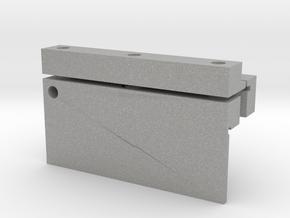 2axis Flexure 1x3cm mountb in Aluminum