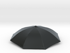 1/24 Umbrella Face Black HD Acrylic Passed in Black Hi-Def Acrylate
