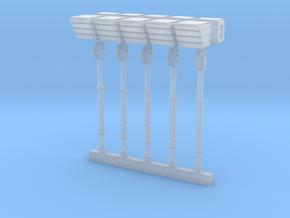 Mk2 - Demon Hammer (x5) in Smooth Fine Detail Plastic