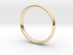 Simple Ring | size 11 in 14K Yellow Gold: 11 / 64