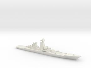 Pyotr Velikiy, 1:3000 in White Natural Versatile Plastic