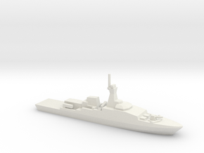 Khareef-class corvette, 1/1250 in White Natural Versatile Plastic