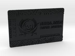 Starcitizen_card_Pirate_Johnson_V10 Final in Black Hi-Def Acrylate