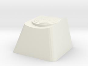 Overwatch Zarya Gravitation Surge Cherry MX Key in White Natural Versatile Plastic