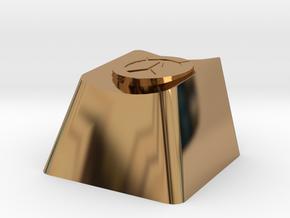 Overwatch Cherry MX Keycap in Polished Brass
