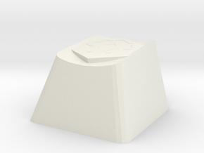 World of Warcraft Horde Cherry MX Keycap in White Natural Versatile Plastic