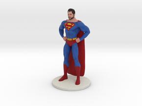 Superman in Full Color Sandstone