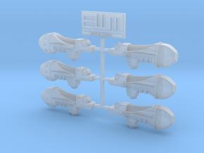 Archaic Plasma Gun x6 in Smoothest Fine Detail Plastic