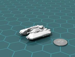 Badakh Battleship in White Strong & Flexible