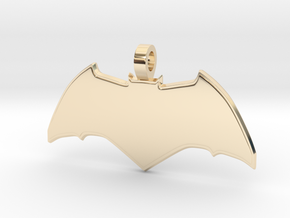 Batman Pendant in 14K Yellow Gold