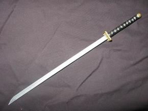 Katana4 in White Natural Versatile Plastic
