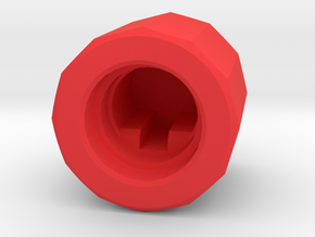 Joy-Control 64 - Knopf v1.1 in Red Strong & Flexible Polished
