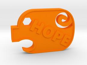 PiggyHope - F**K SUICIDE in Orange Processed Versatile Plastic
