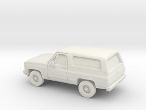 1/87 1989-91 Chevrolet Blazer in White Natural Versatile Plastic