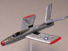 Republic XF-91 Thunderceptor (In flight) 6mm 1/285 in White Strong & Flexible