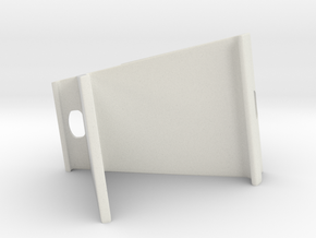 Tablet Stand in White Natural Versatile Plastic