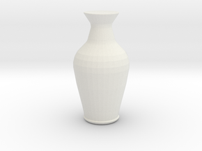 vase3 in White Strong & Flexible: Small