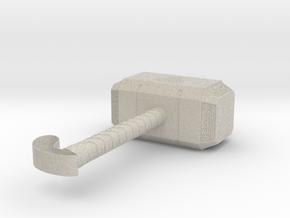 Hammer Thor in Natural Sandstone