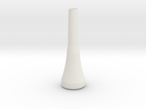 ktp2 mouthpiece in White Natural Versatile Plastic