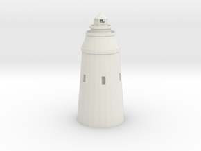 Lighthouse in White Natural Versatile Plastic