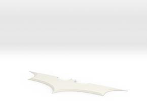 batarang batman begins in White Natural Versatile Plastic