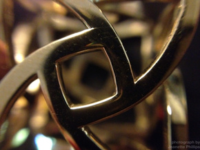 The Cage (20mm) in Polished Brass