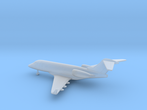 Bombardier Challenger 300 in Smooth Fine Detail Plastic: 1:400