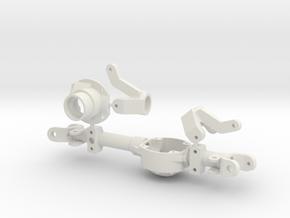 DANA 30 axle with VATERRA GCM 170  in White Natural Versatile Plastic
