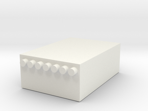 1/10 Breaker box in White Natural Versatile Plastic