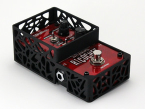 DigiTech Ricochet pedal cover in Black Natural Versatile Plastic