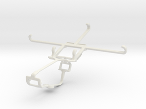 Controller mount for Xbox One & Samsung Galaxy C7  in White Natural Versatile Plastic