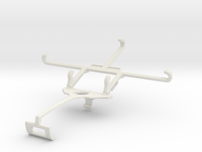 Controller mount for Xbox One S & Karbonn Titanium in White Natural Versatile Plastic