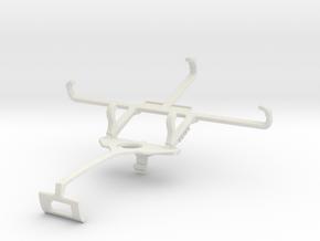 Controller mount for Xbox One S & Allview E3 Livin in White Natural Versatile Plastic