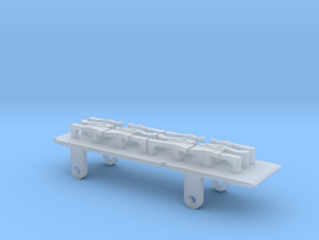 Furness D1, E1 & Cambrian SPC Tender - P4 Chassis in Smooth Fine Detail Plastic