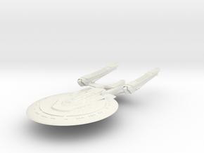 Ohio Class  BattleCruiser in White Natural Versatile Plastic