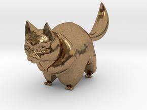 cute cat in Natural Brass: 1:12