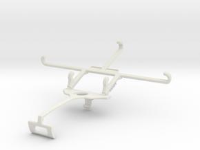 Controller mount for Xbox One S & Intex Aqua Ace - in White Natural Versatile Plastic