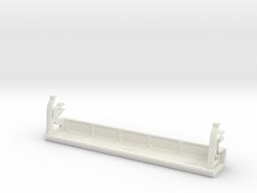 Monitor 1081 / 1084 Klappe / Hatch in White Natural Versatile Plastic