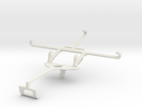 Controller mount for Xbox One S & QMobile Noir Z9  in White Natural Versatile Plastic