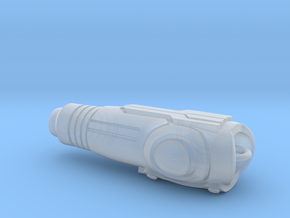 Arm Cannon Charm in Smooth Fine Detail Plastic