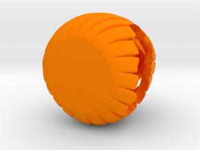 Desk O Lantern in Orange Processed Versatile Plastic