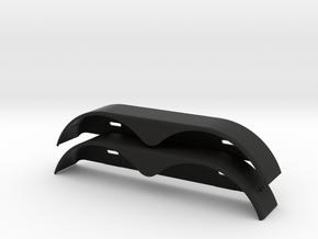 Xs59619-02 Xtraspeed Trailer Fender W/Light Mount in Black Natural Versatile Plastic
