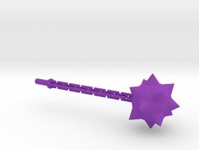 Megatron Flail 1 in Purple Processed Versatile Plastic