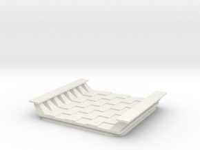 5IN_Mini_ChessBoard in White Natural Versatile Plastic