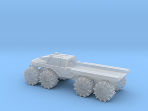 All-Terrain Vehicle closed cab with open cargo bed in Smooth Fine Detail Plastic