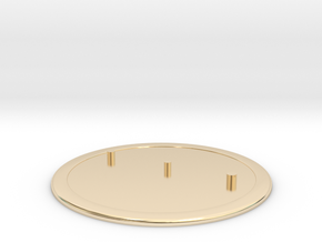 Shield Base 2 - Master 1 in 14K Yellow Gold