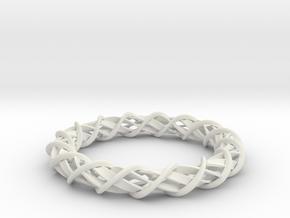 Dielectric in White Natural Versatile Plastic: Medium