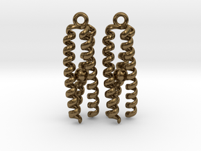 Metal-bound trimeric coiled coil in Natural Bronze