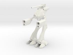 1/285 Space Attack Robot Suit in White Strong & Flexible